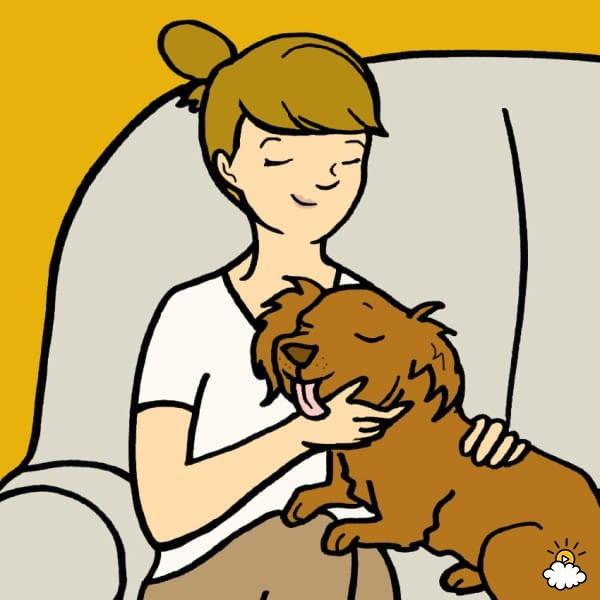 8 dobrych powodów, by pozwalać psu lizać się po twarzy. Są udowodnione przez naukowców!