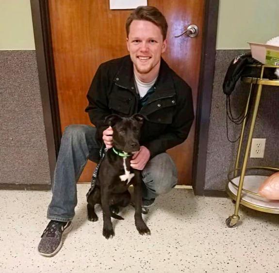 8-miesięczny pies został uśpiony. Mimo podania zastrzyku, wciąż żył