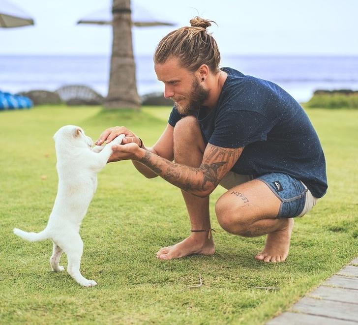 Ciekawostki o zwierzętach, mężczyzna i pies
