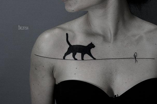 20 najlepszych inspiracji na tatuaże dla wszystkich koto-maniaków