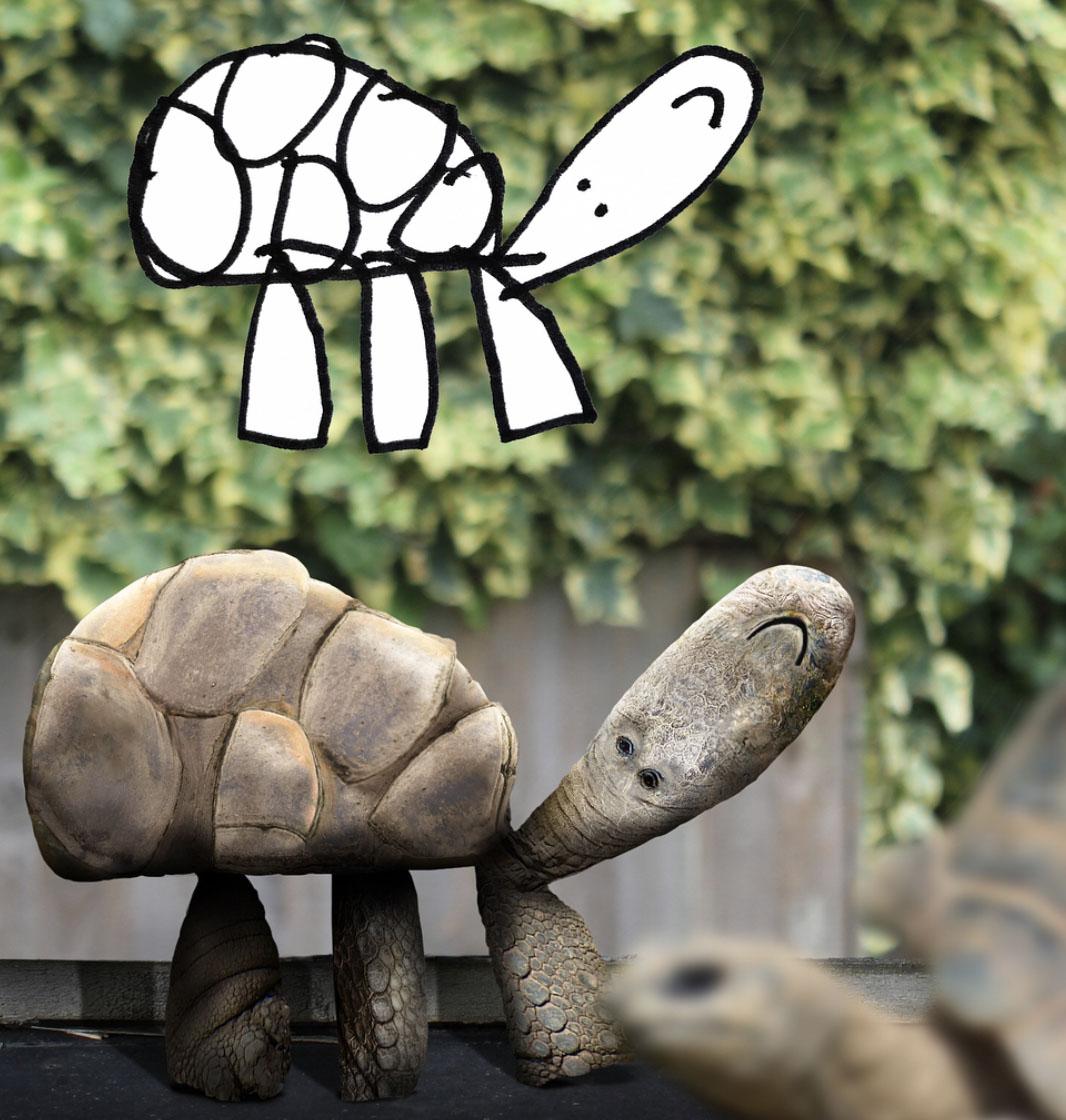 Gdyby zwierzęta w rzeczywistości wyglądały tak, jak rysują je dzieci